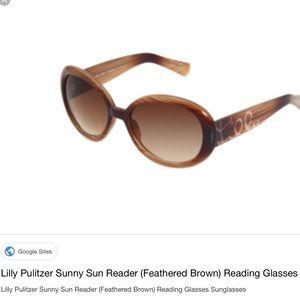 Lilly Pulitzer Sunny Reading sunglasses
